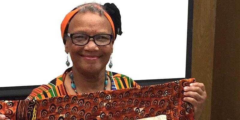 Gladys Wilburns, Sept. 2018