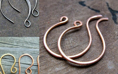 Hammered Ear Wires