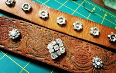 Create a Recycled Leather Belt Bracelet